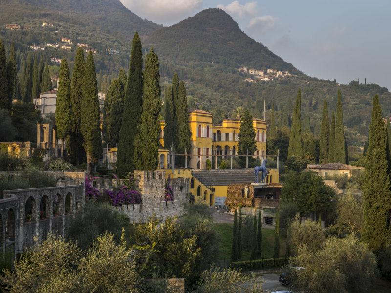 Il Vittoriale, its sites
