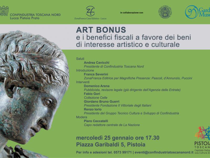 ART BONUS e i benefici fiscali a favore dei beni di interesse artistico e culturale