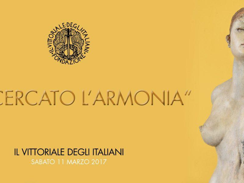 """Il Giornale d'Italia 02/03/2017: """"Ho cercato l'armonia"""" al Vittoriale"""