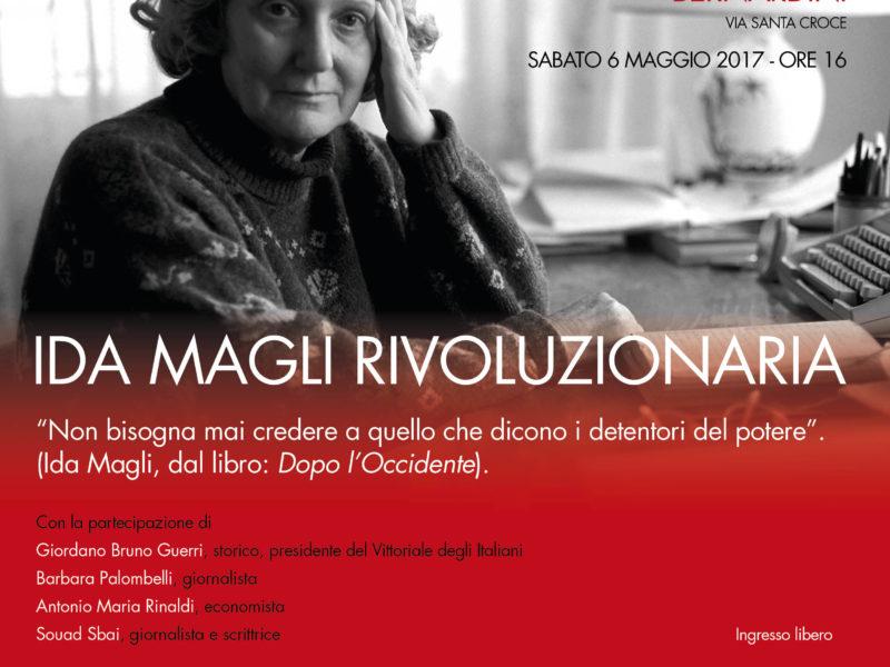 Ida Magli rivoluzionaria
