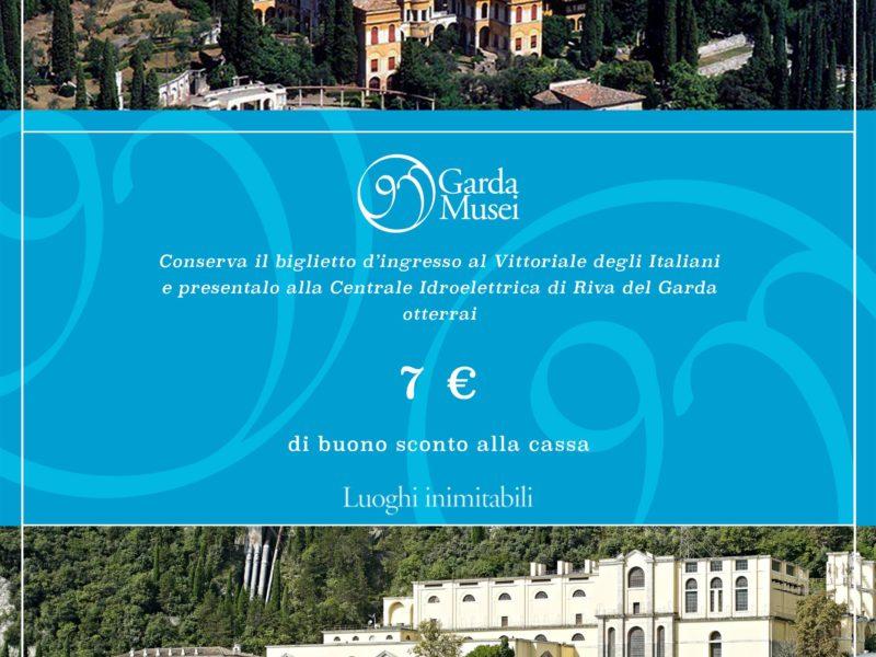 Biglietto congiunto Vittoriale – Centrale Idroelettrica di Riva del Garda