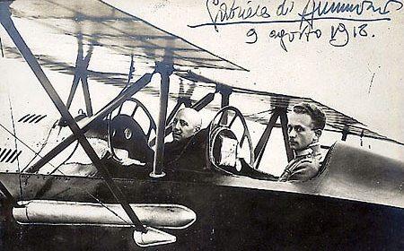 D'Annunzio aviatore