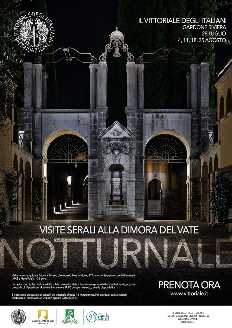 Aperture serali estive per Il Vittoriale degli Italiani