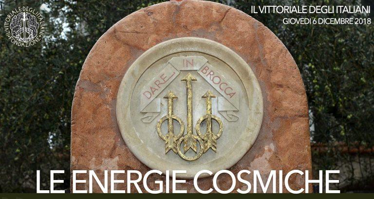 Le energie cosmiche – IX Premio del Vittoriale – giovedì6 dicembre
