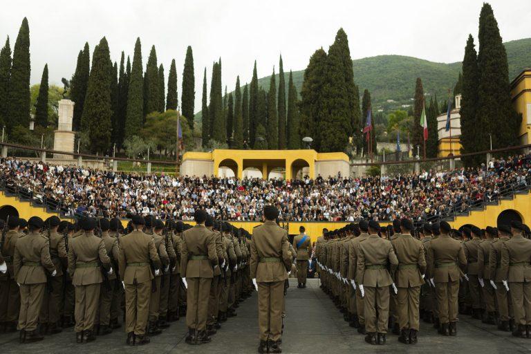 """Giuramento dei soldati dell'85° Reggimento Addestramento Volontari """"Verona"""" – 3 maggio 2019"""